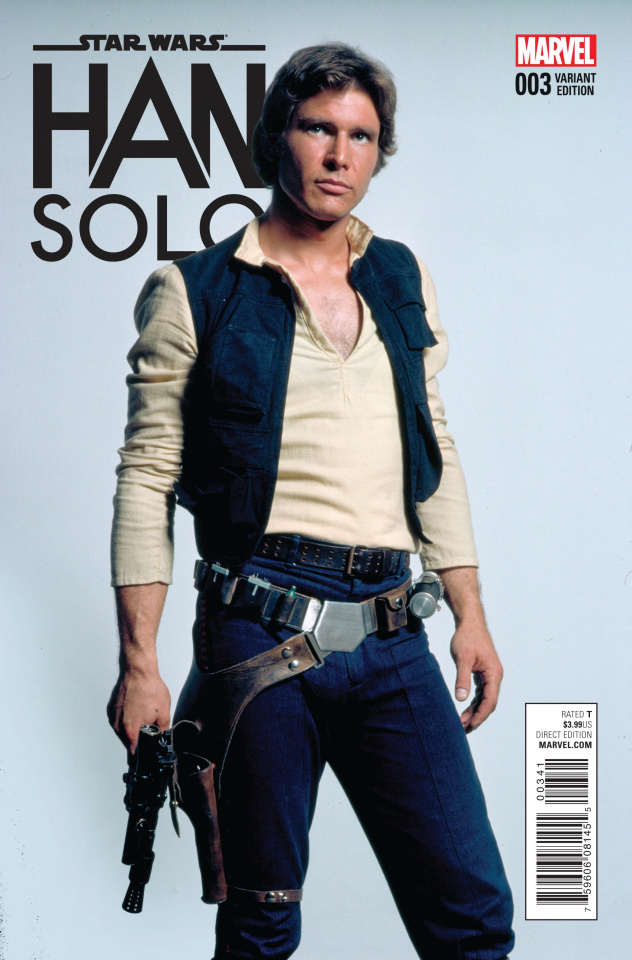 Star Wars: Han Solo #3 (Photo Cover)
