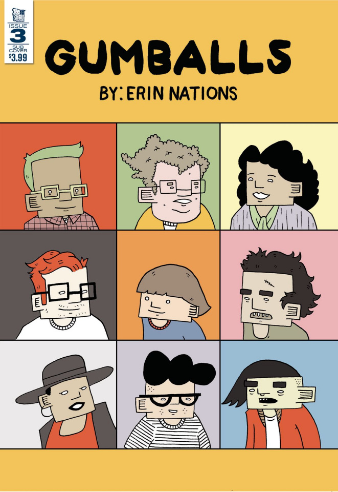 Gumballs #3 (Nations Cover)