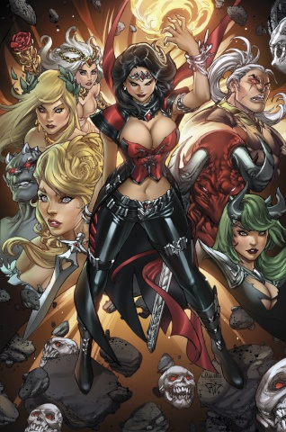 Grimm Fairy Tales: Realm War #2 (Pantalena Cover)