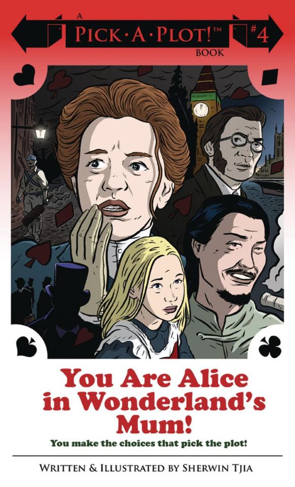 You Are Alice in Wonderland's Mum