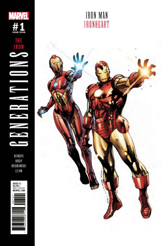 Generations: Iron Man & Ironheart #1 (Coipel Cover)