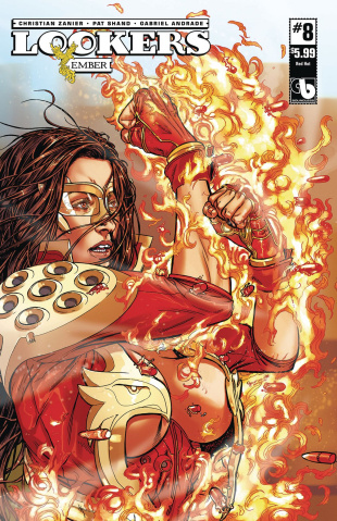 Lookers: Ember #8 (Red Hot Cover)