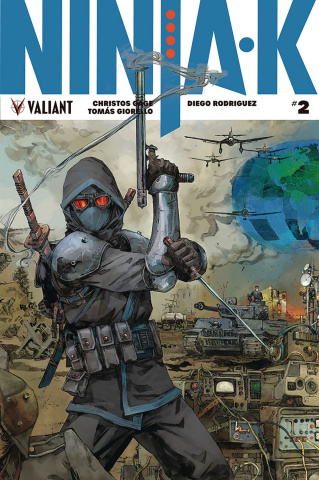 Ninja-K #2 (20 Copy Rocafort Cover)