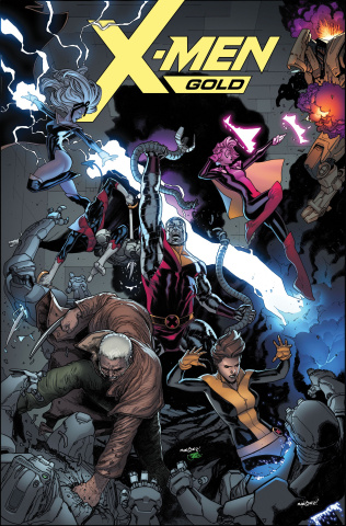 X-Men: Gold #4 (Marquez Cover)