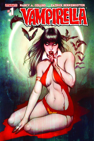 New Vampirella #1 (Frison Cover)