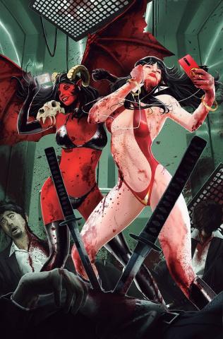 Vampirella vs. Purgatori #1 (11 Copy Maine Virgin Cover)