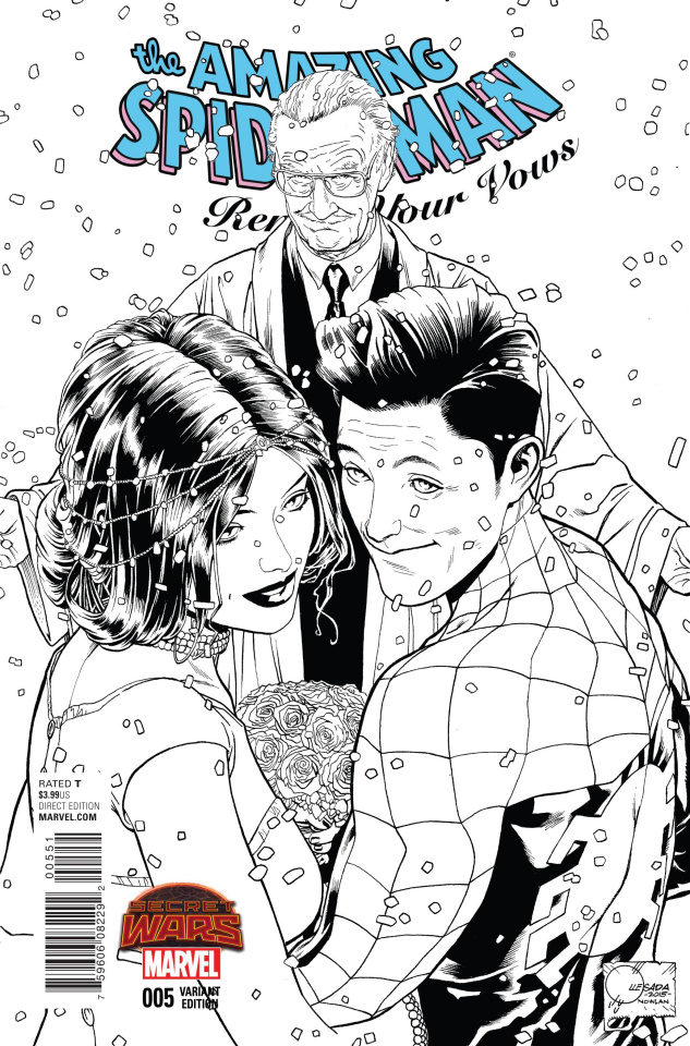 The Amazing Spider-Man: Renew Your Vows #5 (Quesada B&W Cover B)
