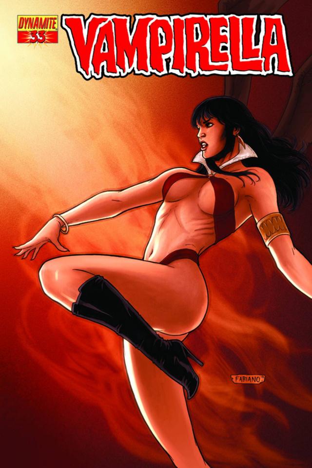 Vampirella #33 (Neves Cover)