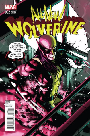 All-New Wolverine #2 (Lopez Cover)