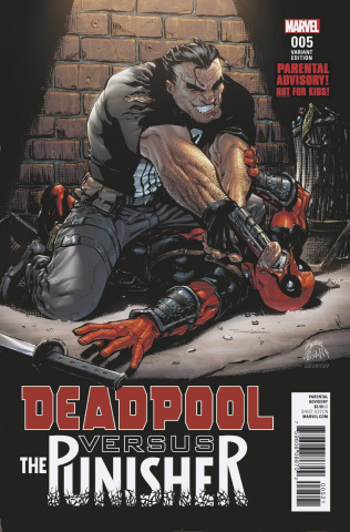 Deadpool vs. The Punisher #5 (Stegman Cover)