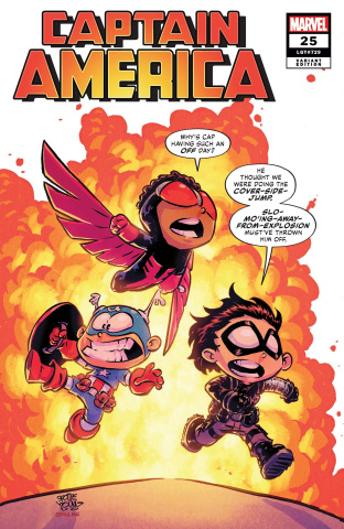 Captain America #25 (Young Cover)
