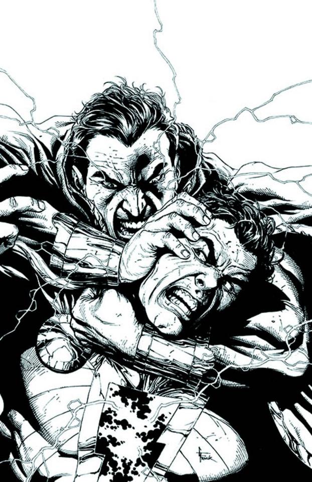 Justice League #21 (Black & White Cover)