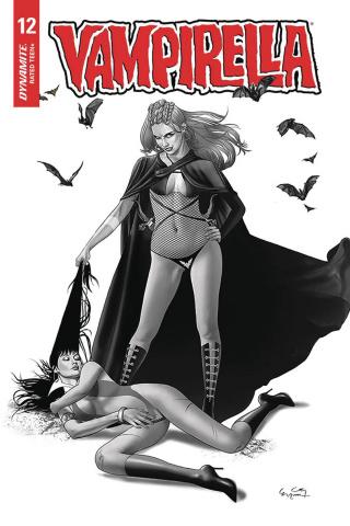Vampirella #12 (20 Copy Gunduz B&W Cover)