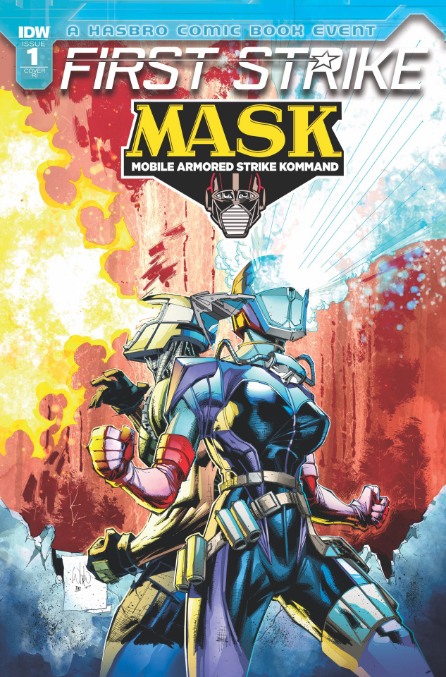 M.A.S.K.: First Strike #1 (10 Copy Cover)
