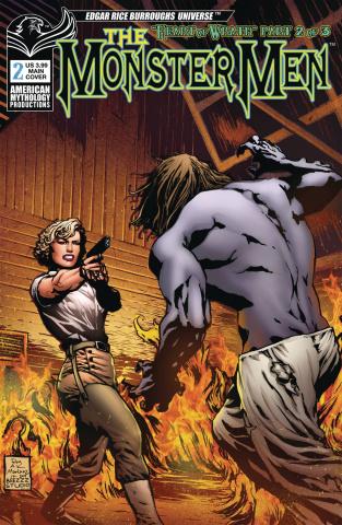 The Monster Men #2 (Martinez Cover)