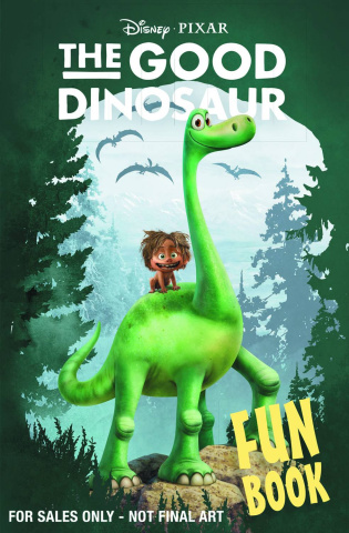 The Good Dinosaur Fun Book