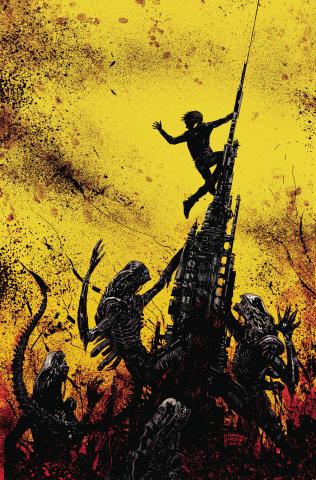 Aliens: Dust to Dust #4 (Beredo Cover)