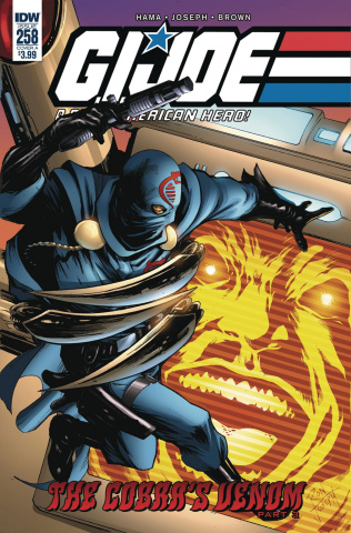 G.I. Joe: A Real American Hero #258 (Joseph Cover)