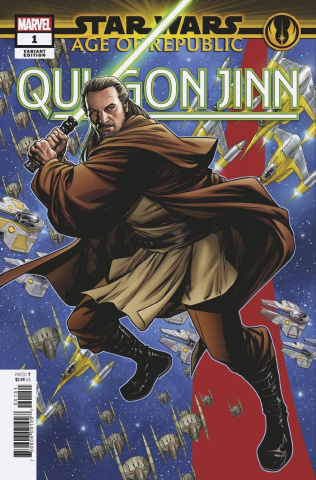 Star Wars: Age of Republic - Qui-Gon Jinn #1 (McKone Puzzle Cover)