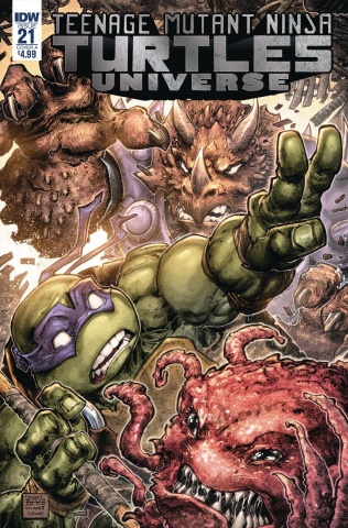 Teenage Mutant Ninja Turtles Universe #21 (Williams II Cover)