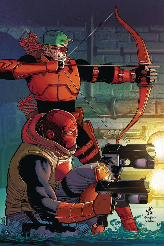 Red Hood / Arsenal #11 (Romita Cover)