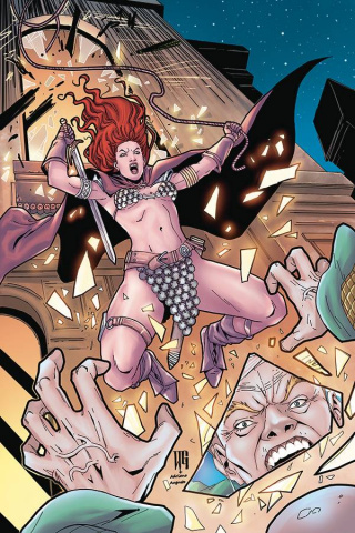 Red Sonja: The Price of Blood #1 (Geovani Virgin Cover)