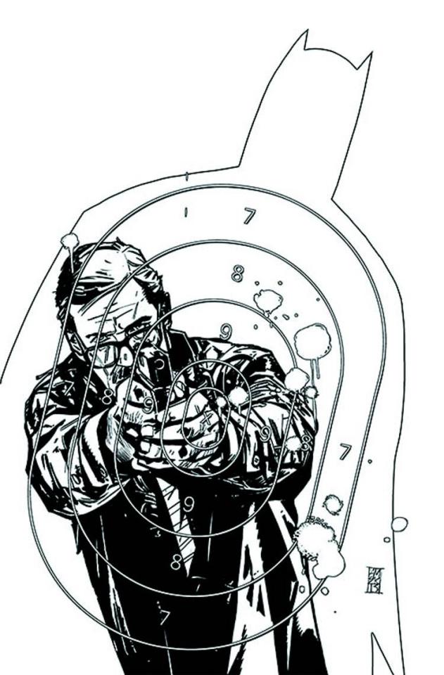 Batman: The Dark Knight #22 (Black & White Cover)