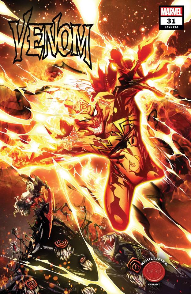 Venom #31 (Herrera Knullified Cover)