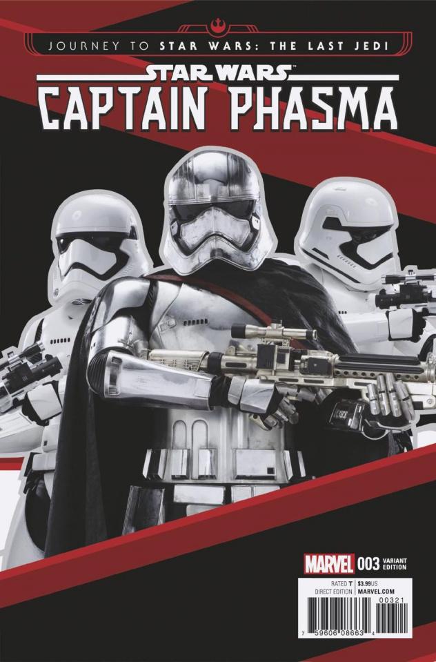 Journey to Star Wars: The Last Jedi - Captain Phasma #3 (Movie Cover)