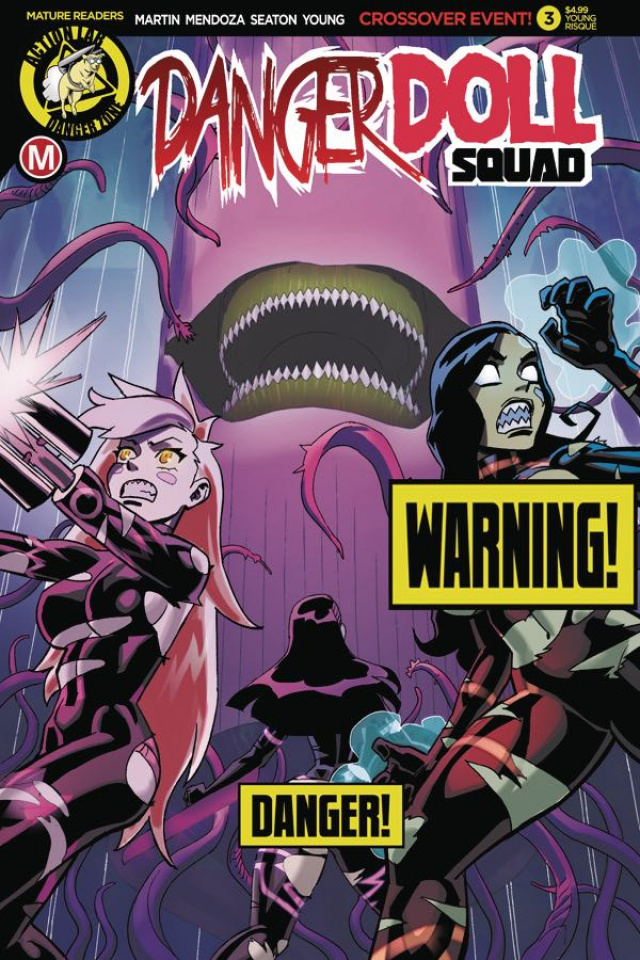Danger Doll Squad #3 (Winston Young Risque Cover)
