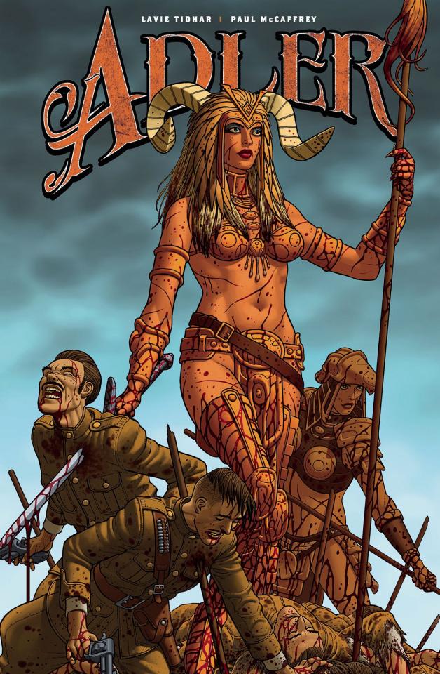 Adler #2 (McCaffrey Cover)