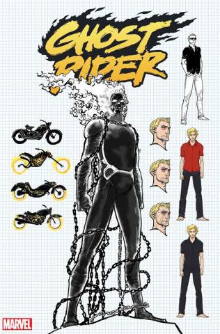 Ghost Rider #3 (Kuder Design Cover)