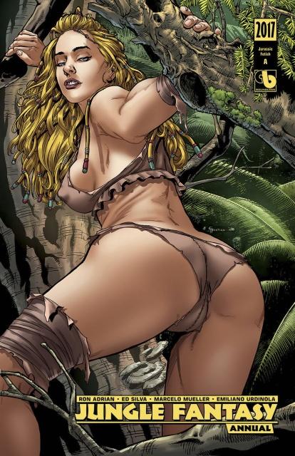 Jungle Fantasy Annual 2017 (Jurassic Fetish Set)