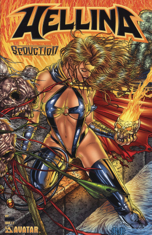 Hellina: Seduction #1/2 (Platinum Foil Cover)
