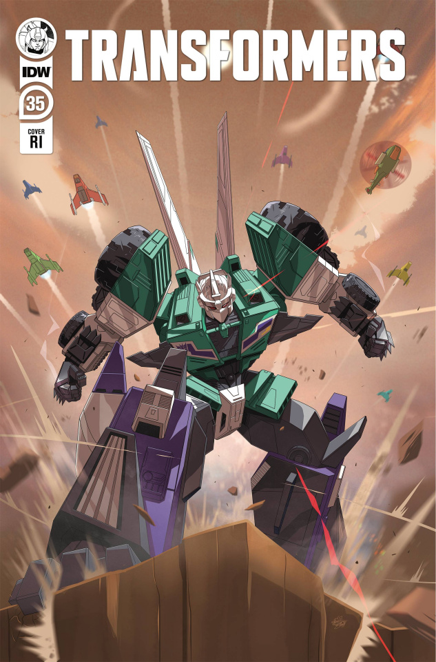The Transformers #35 (10 Copy Gauntt Cover)