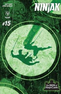 Ninjak #15 (Choi Cover)