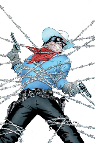 The Lone Ranger #1 (40 Copy Cassaday Virgin Cover)