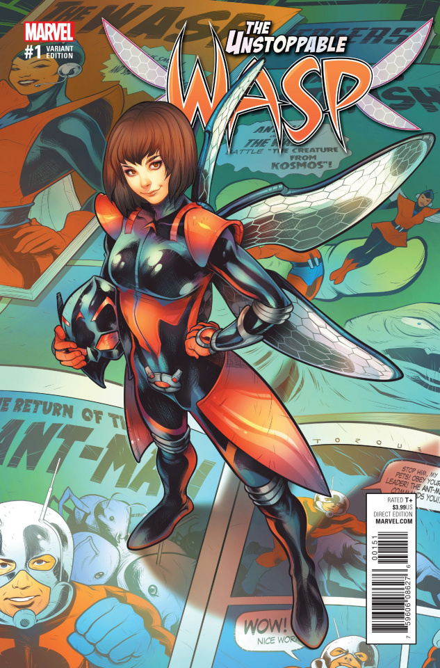 The Unstoppable Wasp #1 (Torque Cover)