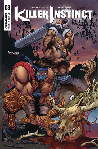 Killer Instinct #3 (Adams Subscription Cover)
