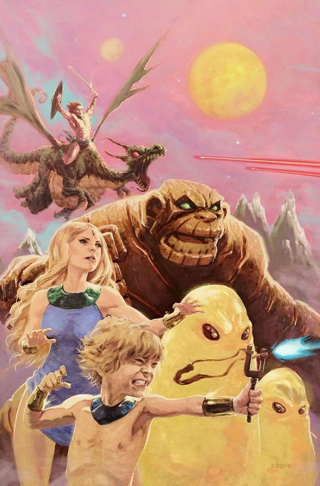 Future Quest Presents #9 (Variant Cover)