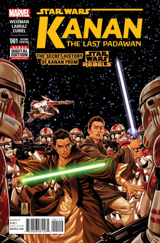 Kanan: The Last Padawan #1 (Brooks 2nd Printing)