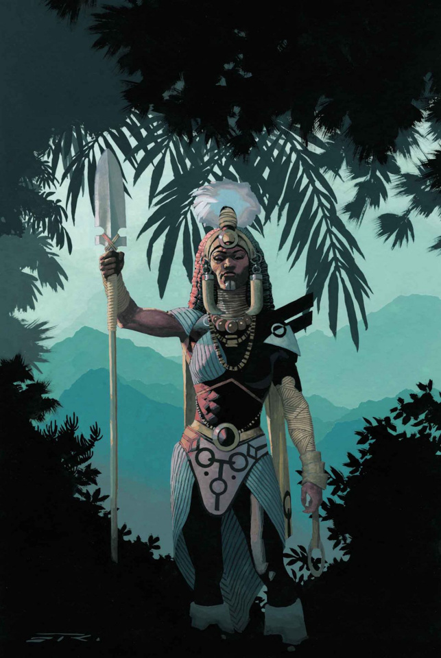Black Panther #8 (Ribic Connecting Cover)