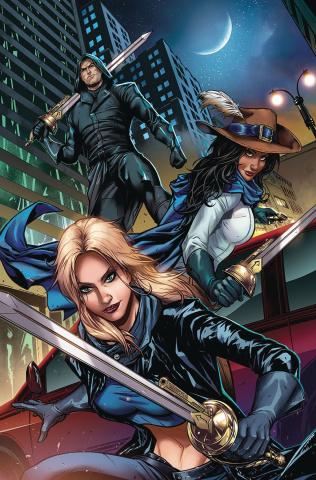 Musketeers #1 (Riveiro Cover)