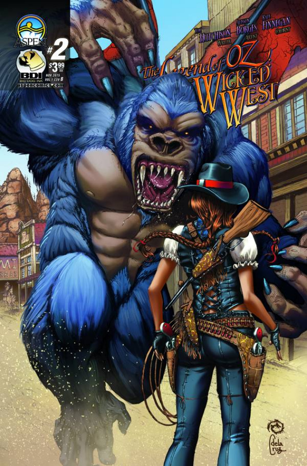 The Legend of Oz: The Wicked West #2 (Wichmann Cover)