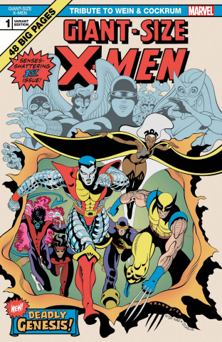 Giant Size X-Men: A Tribute to Wein and Cockrum #1 (Moore Cover)