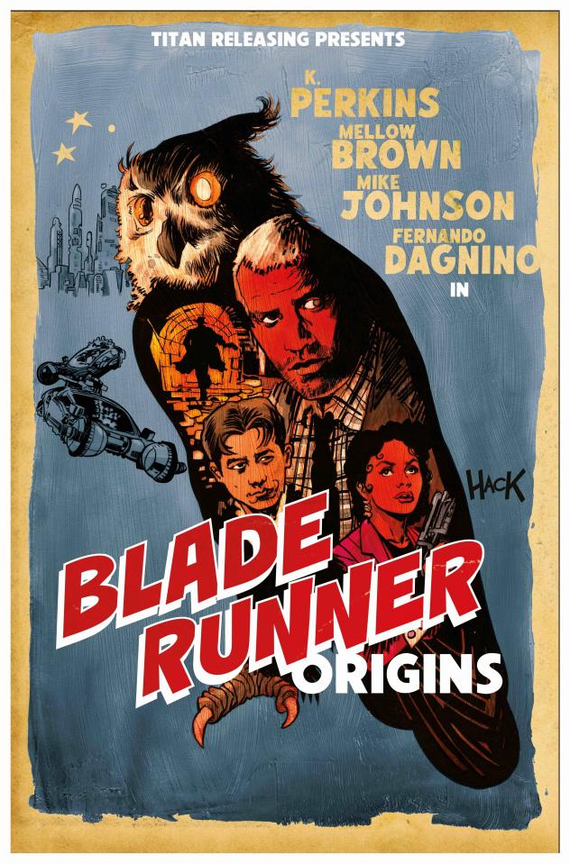 Blade Runner: Origins #8 (Hack Cover)