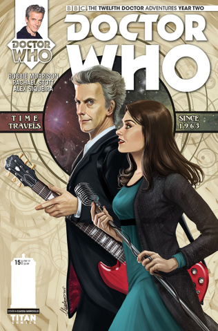 Doctor Who: New Adventures with the Twelfth Doctor, Year Two #15 (Ianniciello Cover)