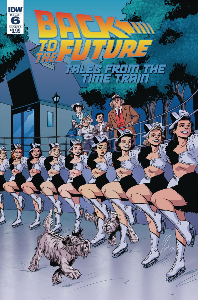 Back to the Future: Tales from the Time Train #6 (Levens Cover)