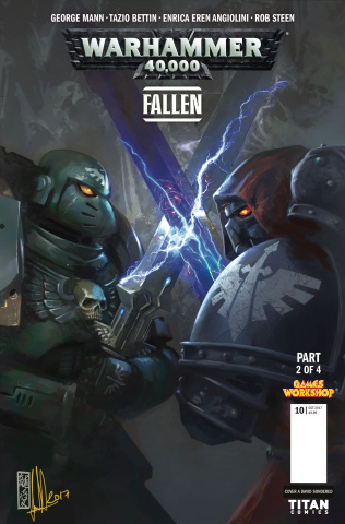 Warhammer 40,000: Fallen #2 (Sondred Cover)