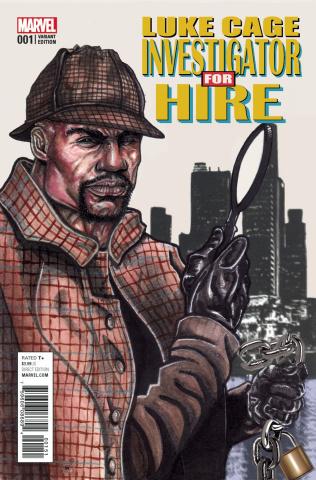 Luke Cage #1 (Davis Cover)